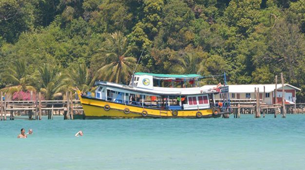 Standard cover photo speed ferry cambodia fastcat boat