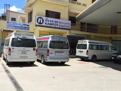 Standard kampot express office phnom penh with vans