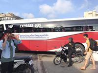 Medium vip express bus