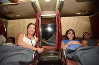 Medium seat in night bus